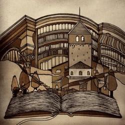 世界の童話シリーズその257「牛をつないだ椿の木」