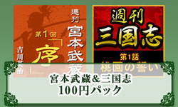 宮本武蔵&三国志 100円パック