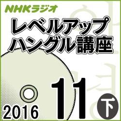 NHK 「レベルアップ ハングル講座」 2016.11月号(下)