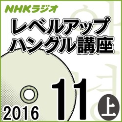 NHK 「レベルアップ ハングル講座」 2016.11月号(上)
