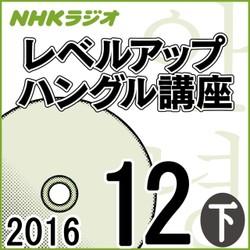 NHK 「レベルアップ ハングル講座」 2016.12月号(下)