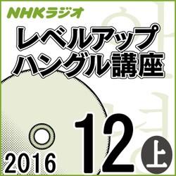NHK 「レベルアップ ハングル講座」 2016.12月号(上)
