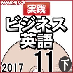NHK「実践ビジネス英語」2017.11月号 (下)